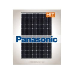 Mono Crystalline Roof Top Panasonic Solar Panel, Model Name/Number: Hit, 0.80 - 2.80 A