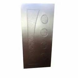 Brown Interior Wooden Membrane Door