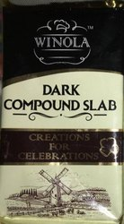 Winola India Dark Compound Chocolate, Packaging Size: 500g