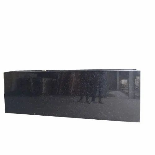 Black Granite Slab, Thickness: 16mm, Application Area: Reception Tabel Counter Top