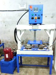 Hydraulic Double 4 Die Making Machine