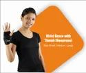 Wrist Brace with Thumb Hole (Neoprene)