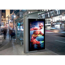 JRG Enterprises Rectangle Free Standing Digital Signage