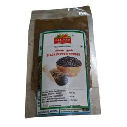 GBS Food Black Pepper Powder, Packaging Size: 200g
