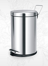 Stainless Steel Paddle Dustbin