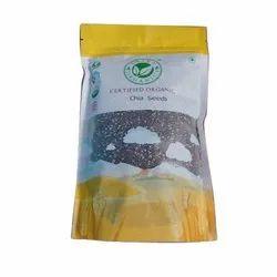 Erika Organics Organic Chia Seeds, Packaging Size: 500 Gm