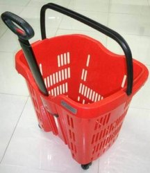 RD Shopping Rolling Basket