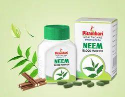 Pitambari's Neem Tablets - Single Herb