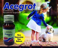 Aceclofenac  Paracetamol   Syrups