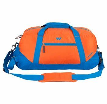 Wildcraft Travel Duffle Bag - Rover 1 - Orange, Solar Travel Bag ... 5575bf096e