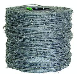 Iron Barbed Wire, Size: 2.5 Mm