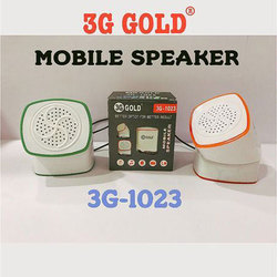 Mini Mobile Speaker, 4 - 6 W, Model No.: 3G - 1023
