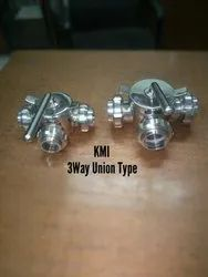 SS304 Dairy Three Way Valve