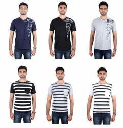 Half Sleeve Boys Branded T Shirts, Size: Large