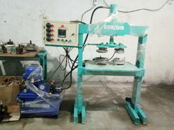Silver Paper Thali Making Machine
