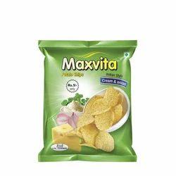 Maxvita Cream And Onion Potato Chips