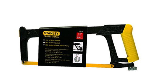 Stanley 15-166 STLFRM 450mm 17 3/4 and BLD-305mm-12 Hacksaw