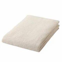 100% Cotton Waffle Bath Towel