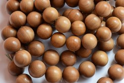 Sandalwood Round Loose Beads