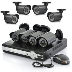 Analog Camera 16 Channel CCTV Surveillance System, 15 to 20 m