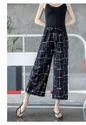Polyester Fancy Black Plazzo Pants For Women, Size: L & Xl