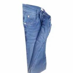 Faded Blue Men Denim Jeans, Waist Size: 38