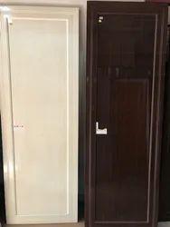 Walnut Sintex Bathroom PVC Doors