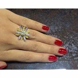 Women Natural Diamond Ring
