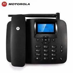Black Motorola FW 200l GSM Landline Phone