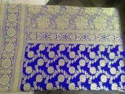 Blue Color Banarasi Opara Silk Saree