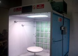 Side Draft Dry Type Spray Booth