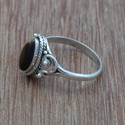 925 Sterling Silver Tiger Eye Gemstone Light Weight Ring