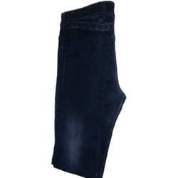Denim Mens Dark Blue Slim Fit Jean, Waist Size: 30