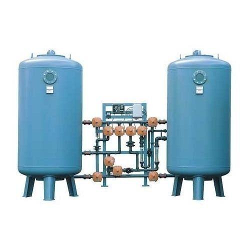 Mild Steel Douche Water Softener Plant, Electric