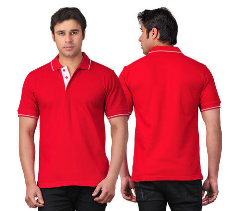 Collared T-Shirts With Tipping