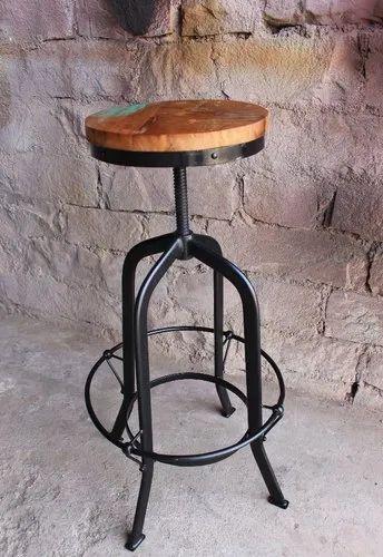 Wondrous Round Bar Stool Pabps2019 Chair Design Images Pabps2019Com