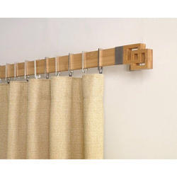 Decorative Wooden Curtain Rods