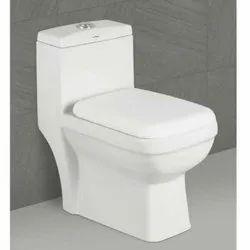 12900de5744 White Floor Mounted ALPINE 105 Modern Water Closet
