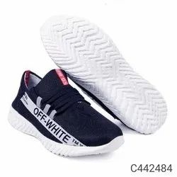 Off White Lace Up Men Stylish Shoes
