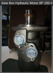 Gear box hydraulic motor