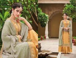 Georgette Semi-Stitched Kimora Salwar Kameez