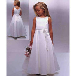 Party Wear Girl Stylish First Communion Dress