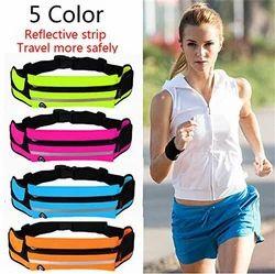 Waist Packs Bags Unisex Sport Running Waistband