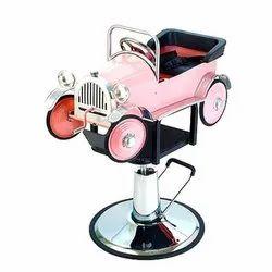 Pink Kids Salon Chair