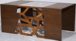 Wooden Center Table, Warranty: 1 Year