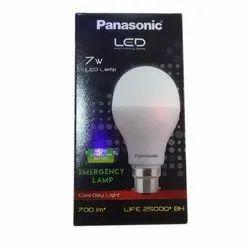 7 W 7W Panasonic LED Bulb, Base Type: E27, for Home,Office