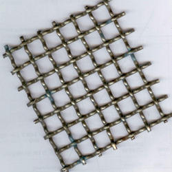 Woven Wire Mesh Double Crimped Wire Mesh for Industrial