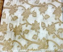 Party Weaving Viscose Tussar Upada Fabric, Application: Clothing