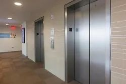 Stainless Steel Automatic Elevator Doors