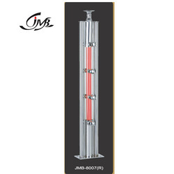 LED Lights Concept Acrylic Staircase Pillar